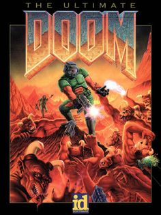 Doom (First-person Shooter Video Game), 1993.  Spent many hours watching this being played at B & B Electronics.