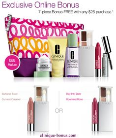 It's here. 1st Fall Clinique gift @ Belk. Spend min. $27. Choose ...
