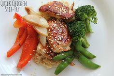 Dinner Tonight: Quick Chicken Stir Fry