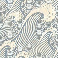Морской бесшовный фон. Винтажные бесшовные фоны. Морская тема.