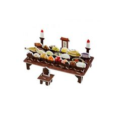 Paper Toy Scale Model Kit for Kids Adult - Prepare Ancestral rites