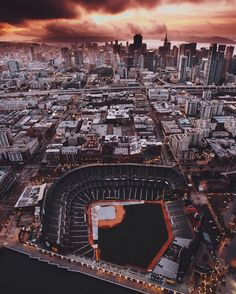 AT&T Park in San Francisco by Brian Nguyen