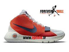 Nike KD Trey 5 III LMTD - Chaussures de BasketBall Pas Cher Homme Rouge/Gris 812558-990-Chaussure NBA Stars Basketball Boutique, Officiel site En France,Livraison rapide et le meilleur service!