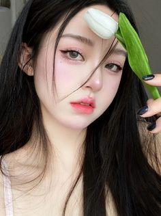 Live Action, Cute Kawaii Girl, Princess Aesthetic, Korean Aesthetic, Beautiful Little Girls, Jennie Blackpink, Girls Makeup, Makeup Inspo, Ulzzang Girl