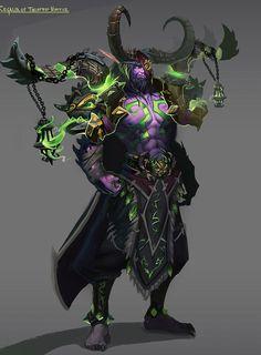 The Legion Is Coming — Demon hunter by Marc-Ross Michaud Fantasy Races, Fantasy Rpg, Dark Fantasy, Dota Warcraft, Warcraft Art, Warcraft Characters, Fantasy Characters, Character Inspiration, Character Art