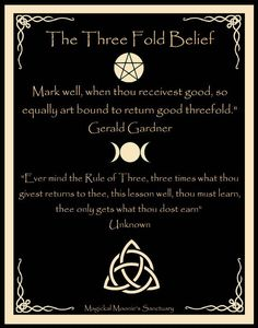 ☆ The Three Fold Belief ☆