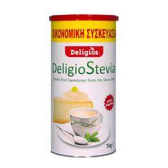 από φυσικό εκχύλισμα φύλλων Stevia    0 θερμίδες  Γλύκα σαν ζάχαρη  Αποκλειστικά από συστατικά φυτικής προέλευσης  Επιτραπέζιο γλυκαντικό φυτικής προέλευσης και με γλυκαντικό από το φυτό Stevia, σε μορφή sticks (20*1,4gr) για να το έχετε πάντα μαζί σας.  Η DeligioStevia έχει εμφάνιση και γεύση σαν της ζάχαρης! Είναι λευκή, κρυσταλλική όπως εκείνη ενώ τη θυμίζει και γευστικά αφού δεν είναι ούτε πολύ γλυκιά ούτε πικρή όπως άλλα υποκατάστατα ζάχαρης. Συνδυάζει ιδανικά το εξαιρετικής…