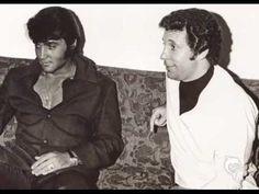 Elvis Presley & Tom Jones---- Backstage & Live On Stage ''I'll Never Fall In Love Again''