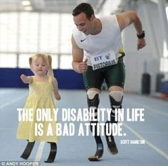 Having a good attitude in life gives one the ability to go on even when the world thinks you cannot!  www.letsmote.com