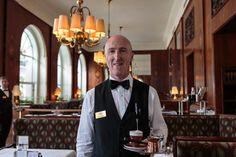 Rudi - waiter at the Cafe Landtmann in Vienna