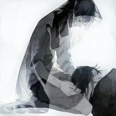 Misaki and Saruhiko