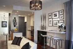 Interior & Architecture Designs: Small Condominium Design, Small Space, Condominium, Condo Designs For Small Spaces, Create Beautiful Condo¸ Create Beautiful Condo Design, ~ STEPINIT