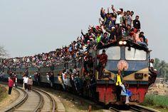 La joie des transports au Bangladesh