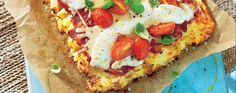 Potato crust pizza