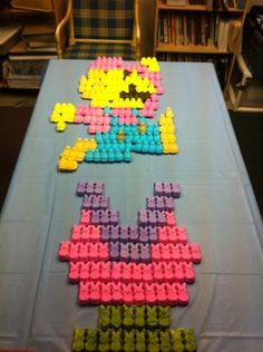Dream up your own awesome use for Peeps. | 31 Things You Can Do With Peeps That Will Blow Your Kids' Minds