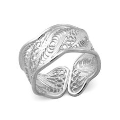 Ocean Wave Ring - Filigree designed, Crafted in 925 sterling silver ( Etsy:: http://www.etsy.com/listing/67040253/ocean-wave-ring-filigree-designed?ref=sr_gallery_33_search_submit=_search_query=sterling+silver+filigree_page=2_search_type=handmade_facet=handmade# )