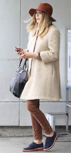 Elizabeth Olsen.  Click through to buy her shoes!