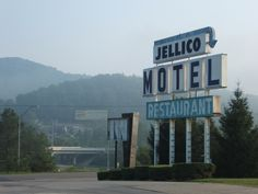 Jellico Motel.....at one time was a wonderful place to stay and eat.