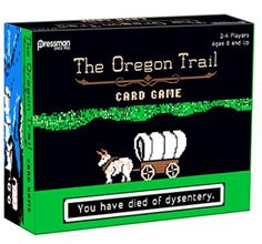 Probably the funniest card game ever!! Oregon Trail Card Game