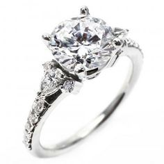 OGI Pear-Shaped Engagement Ring  OGI_ 633-8WA-M