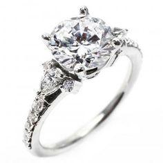 OGI Pear-Shaped Engagement Ring  OGI_ 633-8WA-M