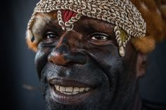 Papua New Guinea tribes from Sepik region ∞ ANYWAYINAWAY