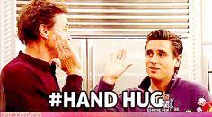 i am going to start saying this. FREE (hand) HUG FRIDAY