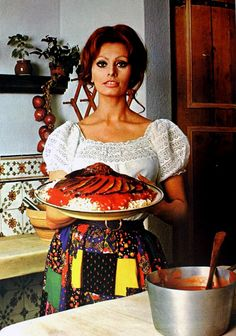 "Sophia Loren's ""Cooking with Love"" cookery book - Retronaut"