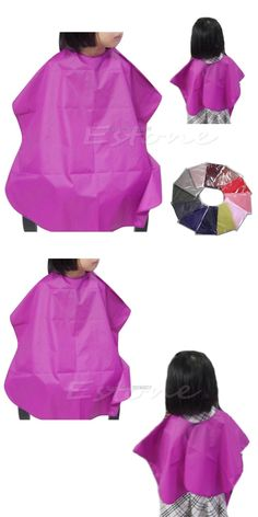 [Visit to Buy] Children Salon Waterproof Hair Cut Hairdressing Barbers Cape Gown Cloth New Hot -B118 #Advertisement