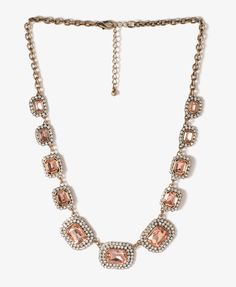 Sparkling Charm Chain Necklace | FOREVER21 - 1027705762