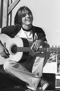 Jackson Browne, the first time I heard JB was at the Mountain Air Summer Music Festival at the Calaveras County Fair Grounds. It was love at first sound.