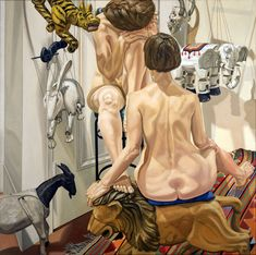phillip pearlstein...such wonderful modeling of the skin...you can see his work from a mile away