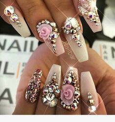 18 Beautiful Nail Designs for Summer - Nail Art Design French Manicure Unique Nails Design Pics Unique Manicure Prices French Manicure Fashion Nail Designs Bling, Nail Polish Designs, Cute Nail Designs, Acrylic Nail Designs, Nails Design, Art Designs, Design Ideas, Design Fails, Ongles Bling Bling