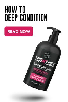 Deep conditioning your hair is an integral part of maintaining strong and moisturized strands. Curly Hair Routine, Curly Hair Tips, Curly Hair Care, Curly Hair Styles, Curly Girl, Natural Hair Mask, Natural Hair Care Tips, Natural Hair Styles, Different Curls