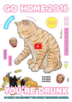 new years poster by - pupik meme internet art kawaii