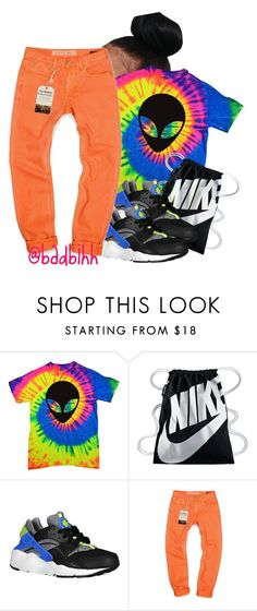 """super ugly."" by badbihh on Polyvore featuring NIKE and Williamsburg Garment Company"