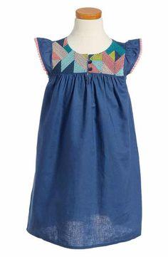 Tea Collection Goolwa Embroidered Dress (Toddler Girls, Little Girls & Big Girls)