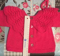 Blog Abuela Encarna: JERSEY ROSA FUCSIA TALLA 9 MESES CON CUELLO Amelia, Sweaters, Blog, Fashion, Knitted Baby Cardigan, Tricot, Moda, Fashion Styles, Sweater