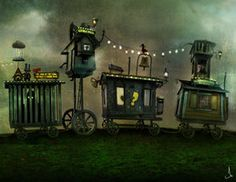 The Caravan II by AlexanderJansson