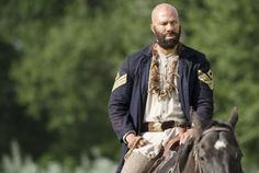 SPOILERS: Common, 'Hell on Wheels' showrunner John Wirth discuss the shocking departure of a key character at the hands of Anson Mount Anson Mount, Hell On Wheels, Bear Men, How To Show Love, Celebrity Couples, Embedded Image Permalink, Old Things, Character, Icons