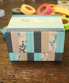 DIY: Washi Tape box