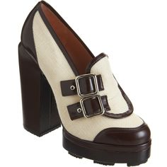 Carven Buckled Loafer Pump at Barneys.com