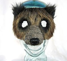 Woodland ours brun ours grizzli masque costume par MissMaryMask