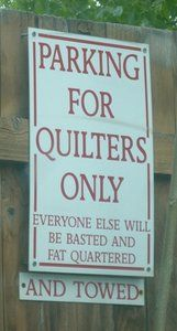 Quilters Parking