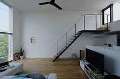 Compact Minimalism: Bright Japanese House Inspiring Tranquility