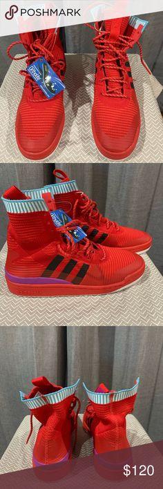 low priced db20c 3ccc6 Adidas forum knit basketball shoes Brand new Adidas forum basketball shoes  size 9 1 2