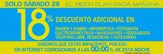 -18% en #ECI Imagen y Sonido,Informática,Foto,Electro,Videojuegos,Telefonía hasta 28/01 23:30h http://www.expotienda.com/index.asp?categoria=8&producto=128 http://pic.twitter.com/uYcRdIA5