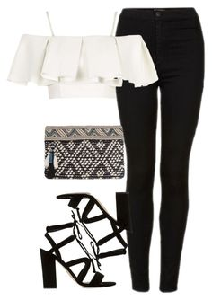 """""""Birthday"""" by perrieanddaniellestyle ❤ liked on Polyvore featuring Topshop, Dune and MANGO"""