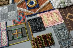 Screws, buttons and thumbtacks make carpets, too. Amazing carpets.