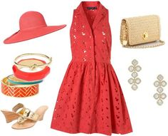 Virginia Gold Cup Outfit